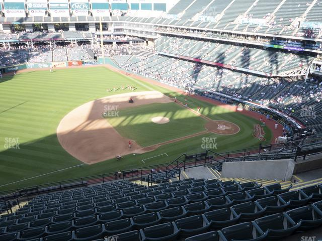 Progressive Field Section 567 view