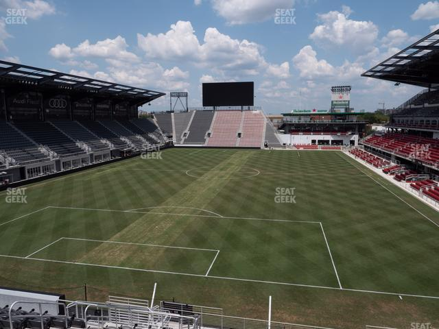 Audi Field Section 116 view