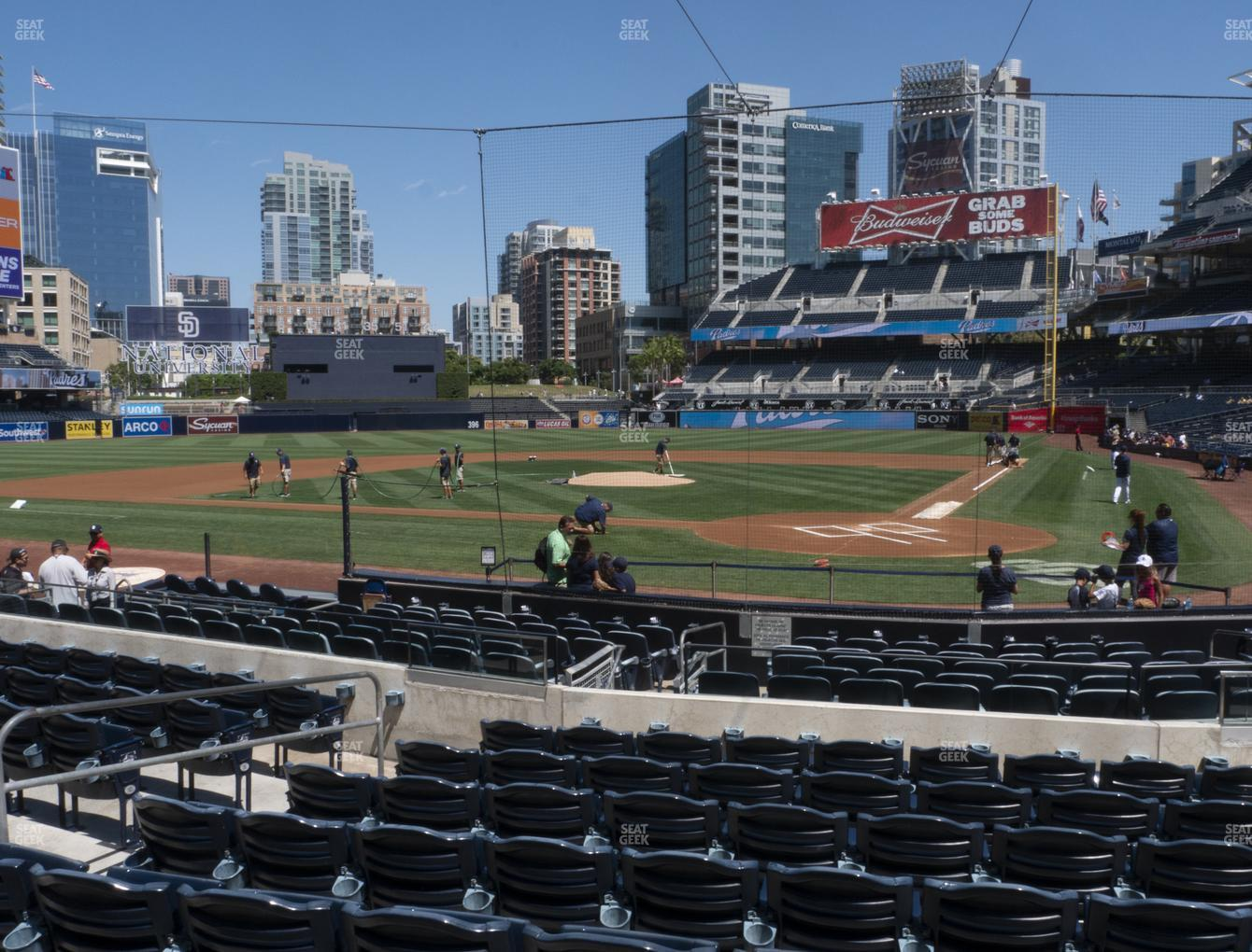 San Diego Padres at Petco Park Section 104 View