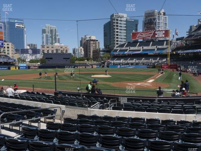 Petco Park Section 104 view