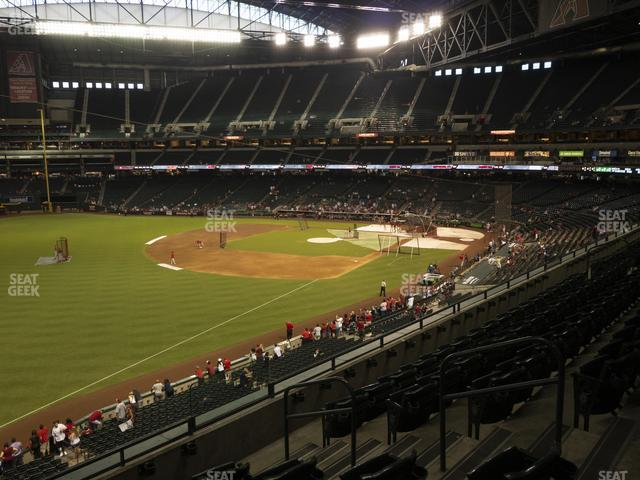 Chase Field Section 219 view