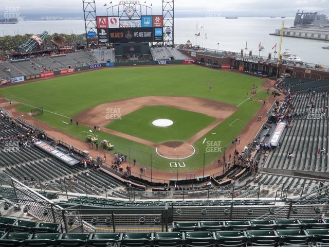 Oracle Park Section 317 view