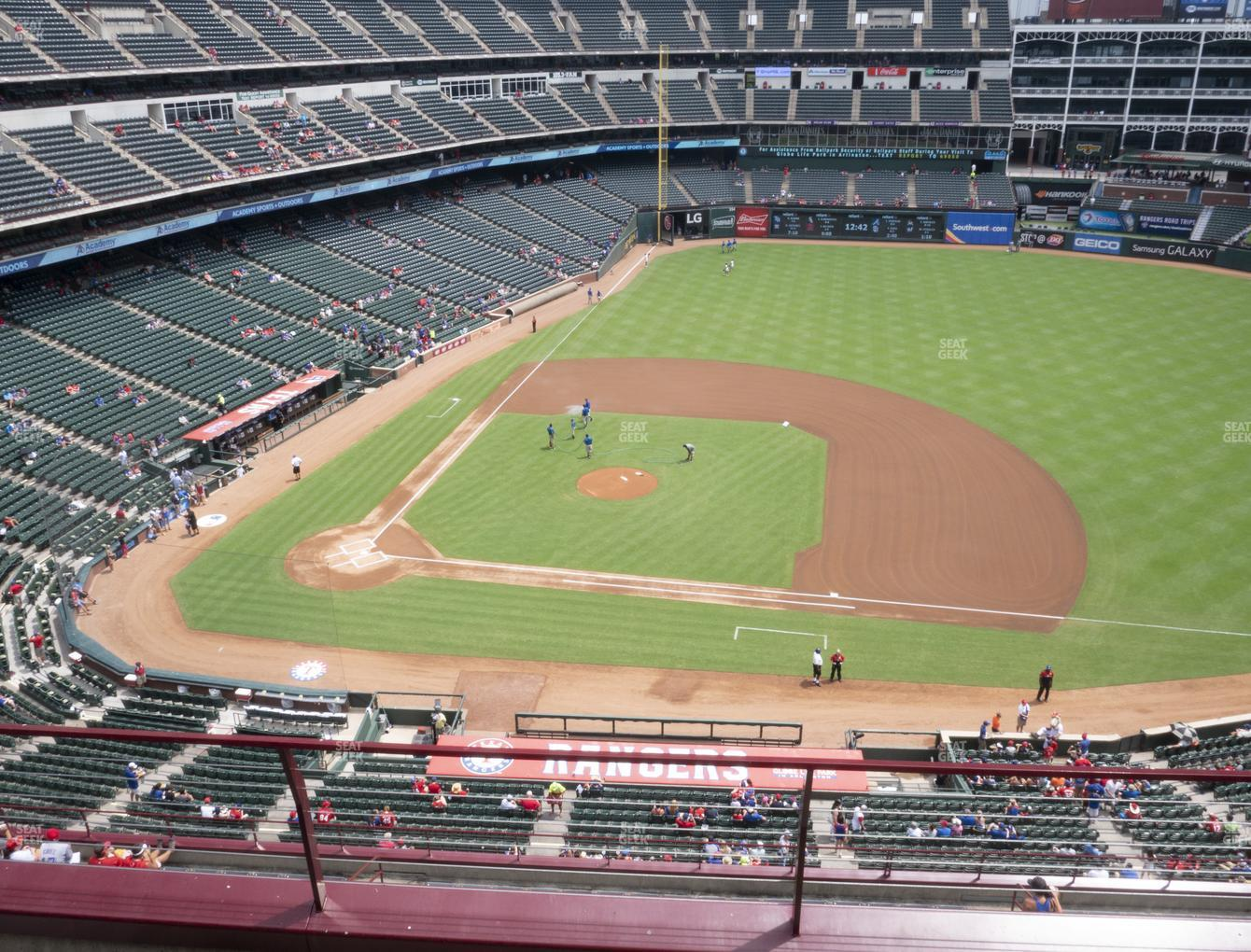 Concert at Globe Life Park Section 333 View