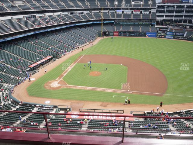 Globe Life Park Section 333 view