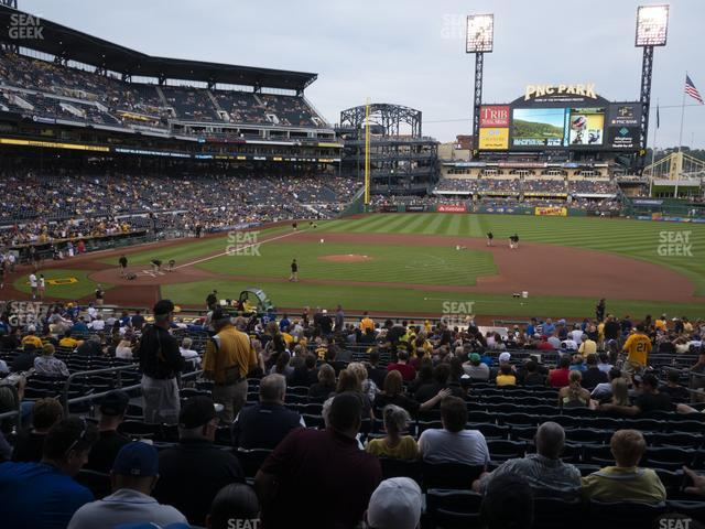 PNC Park Section 110 view