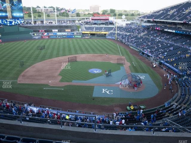 Kauffman Stadium Section 413 view