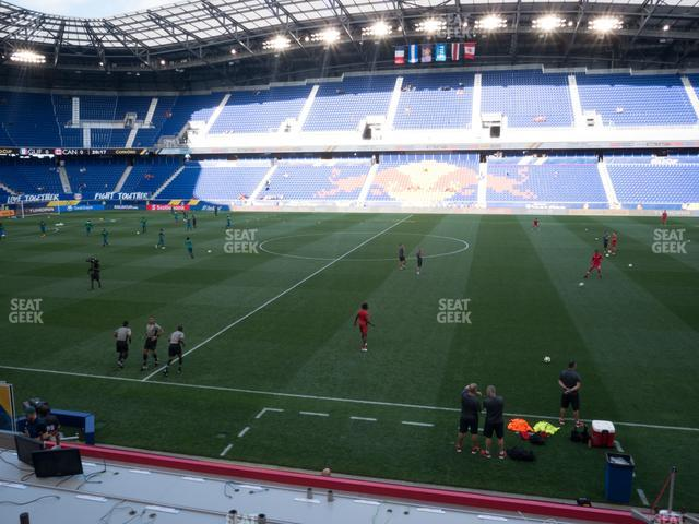 Red Bull Arena Section Audi Club 109 view