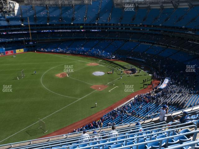 Rogers Centre Section 535 L view