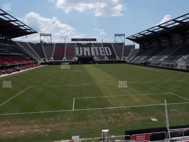 Audi Field Section 138 view