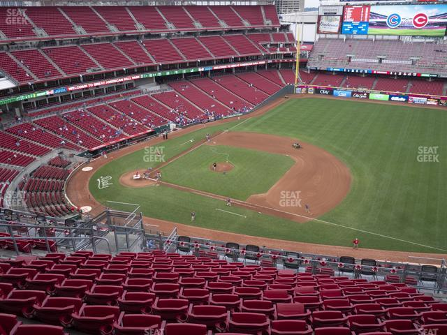 Great American Ball Park Section 532 view