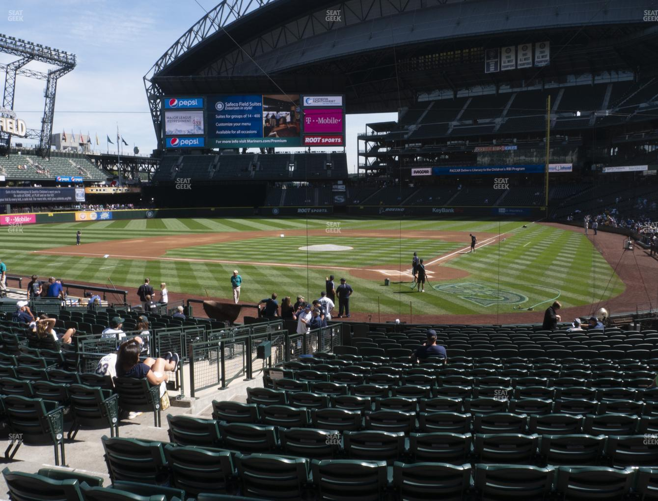 Seattle Mariners at T-Mobile Park Section 133 View