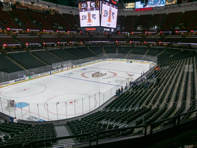Honda Center Section 311 view