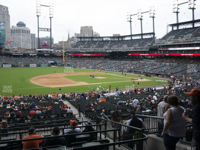 Comerica Park Section 137 view