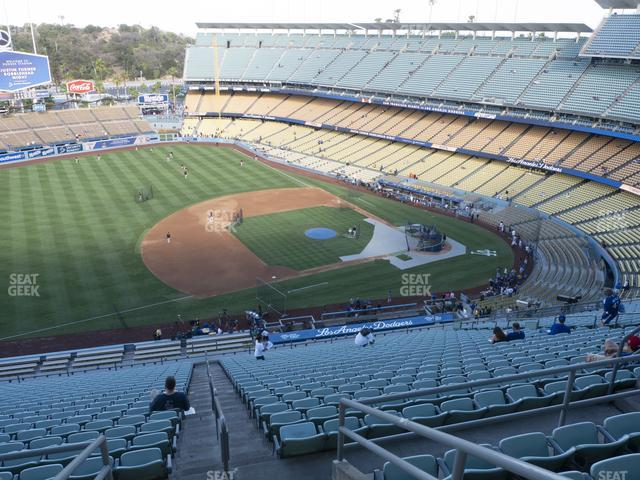 Dodger Stadium Reserve 25 view