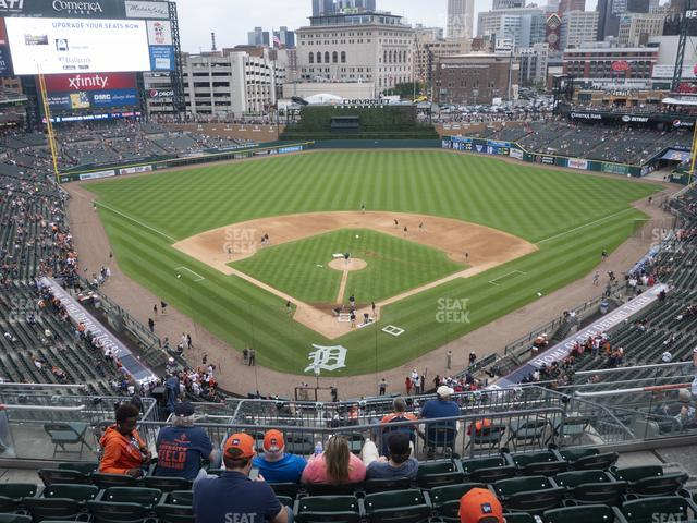 Comerica Park Section 327 view