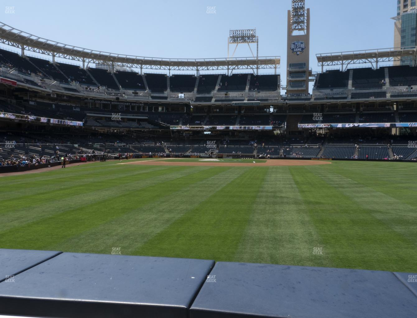 San Diego Padres at Petco Park Section Home Run Deck View