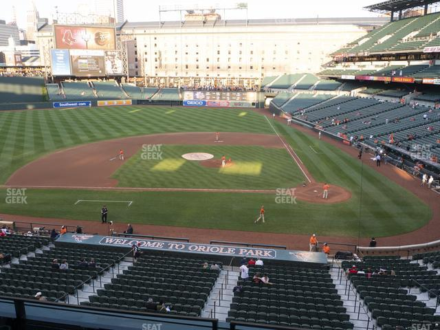Oriole Park at Camden Yards Section 246 view