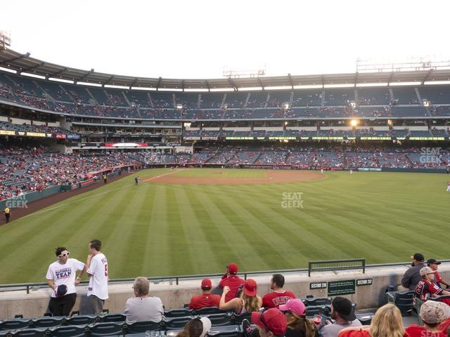 Angel Stadium of Anaheim Section 236 view