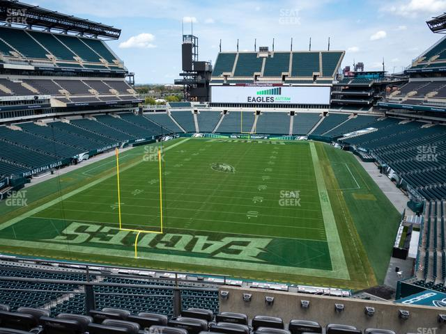 Lincoln Financial Field Section M 12 view