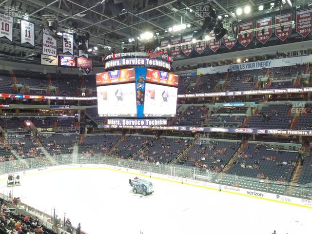 Capital One Arena Section 203 view