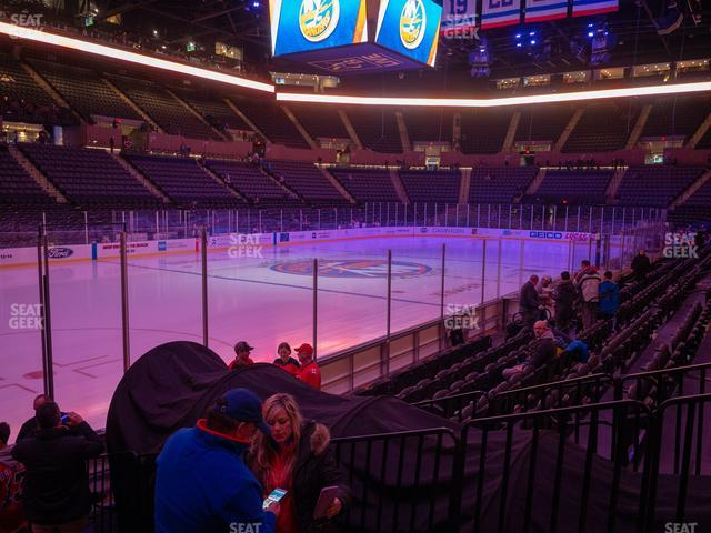Nassau Veterans Memorial Coliseum Section 20 view