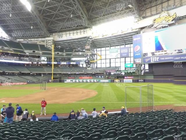 Miller Park Section 111 view