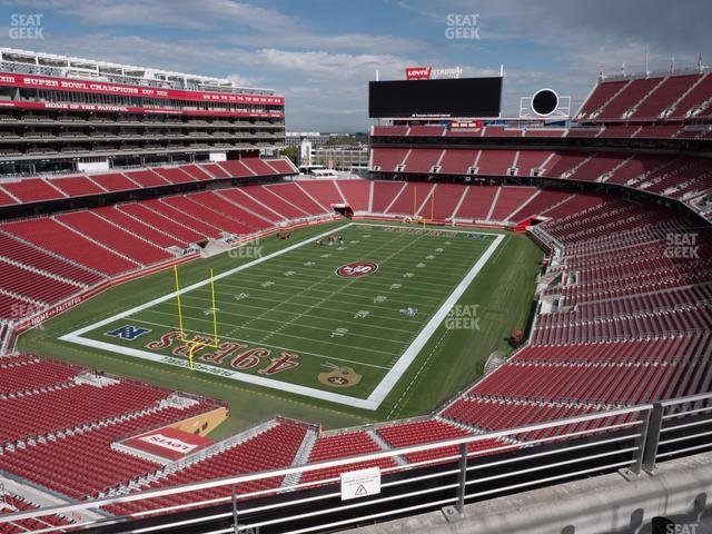 Levi's Stadium Section 323 view