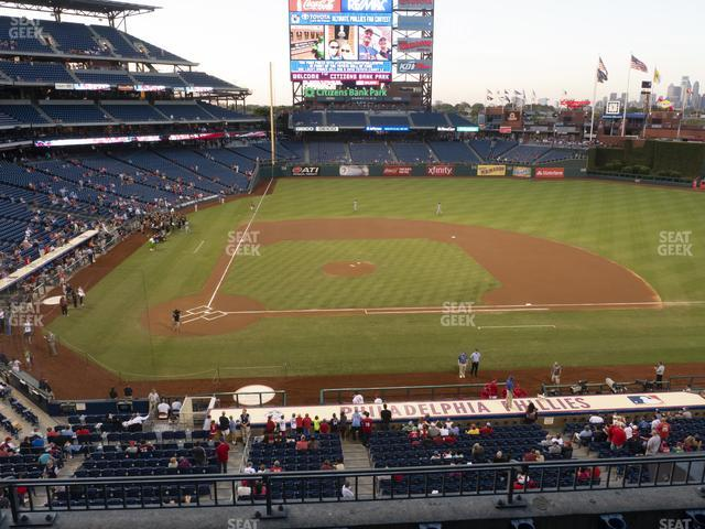 Citizens Bank Park Section 217 view