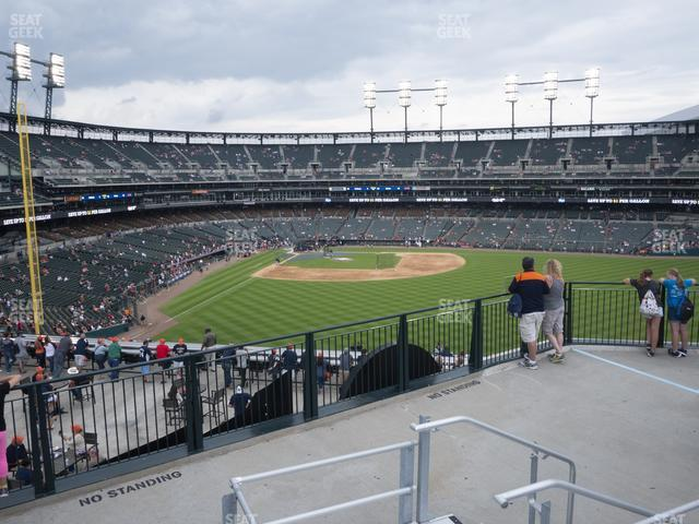 Comerica Park Jungle Bleachers B view