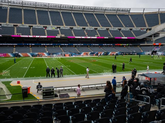 Soldier Field Section 111 view