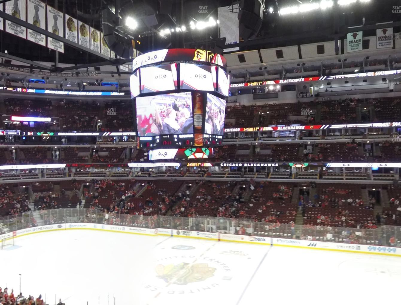 Chicago Blackhawks at United Center Section 233 View