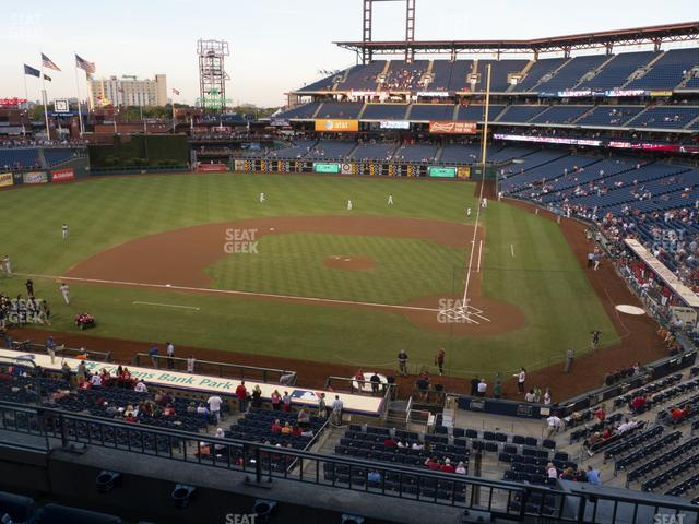Citizens Bank Park Section 226 view