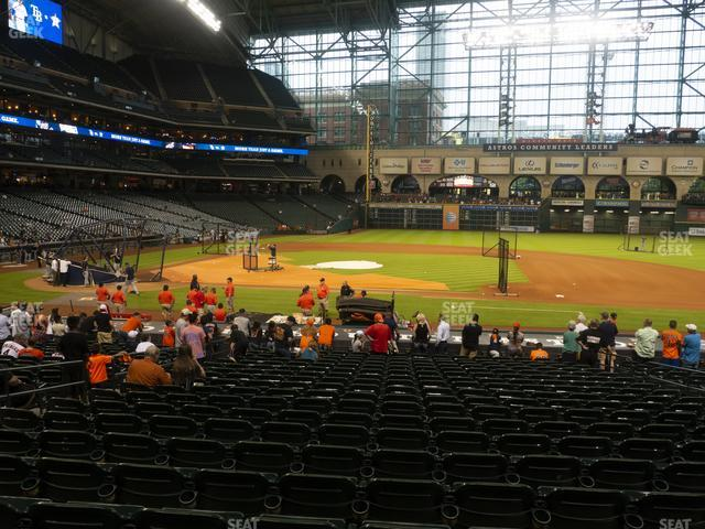 Minute Maid Park Section 126 view