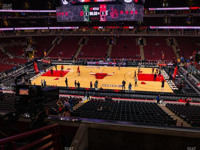 United Center Section 217 view