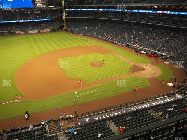 Minute Maid Park Section 311 view