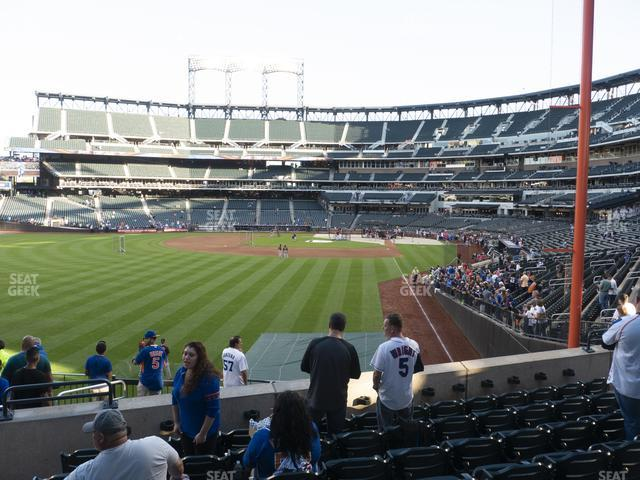Citi Field Section 132 view