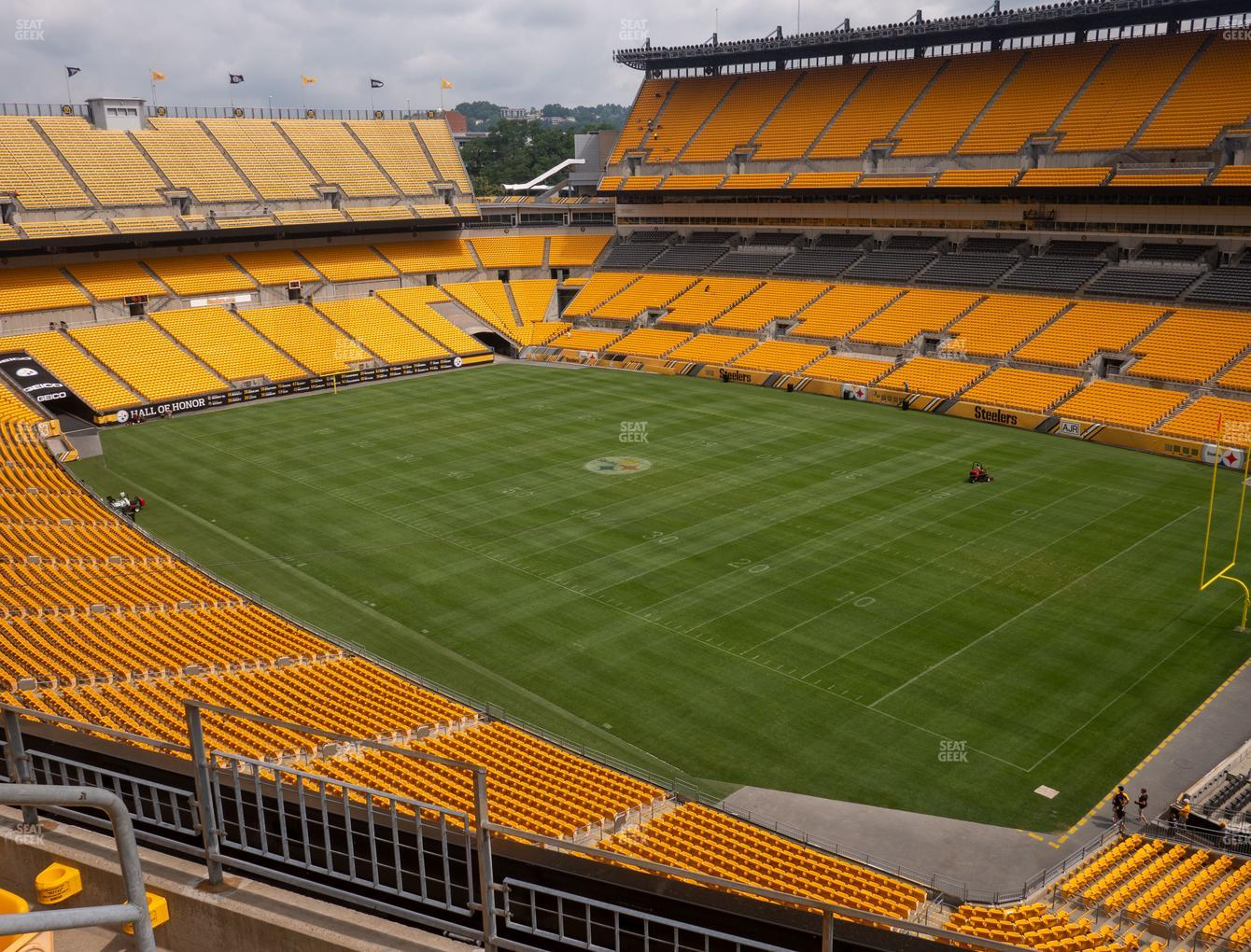 Pittsburgh Steelers at Heinz Field Section 541 View