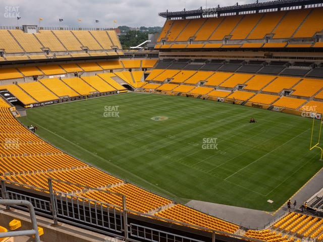 Heinz Field Section 541 view