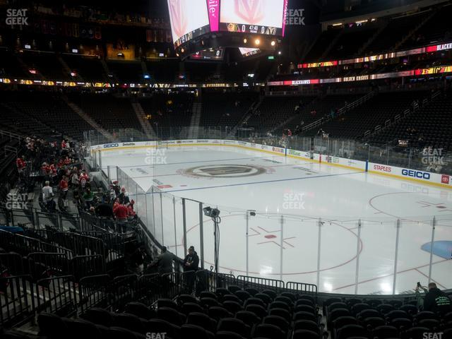 T-Mobile Arena Section 9 view