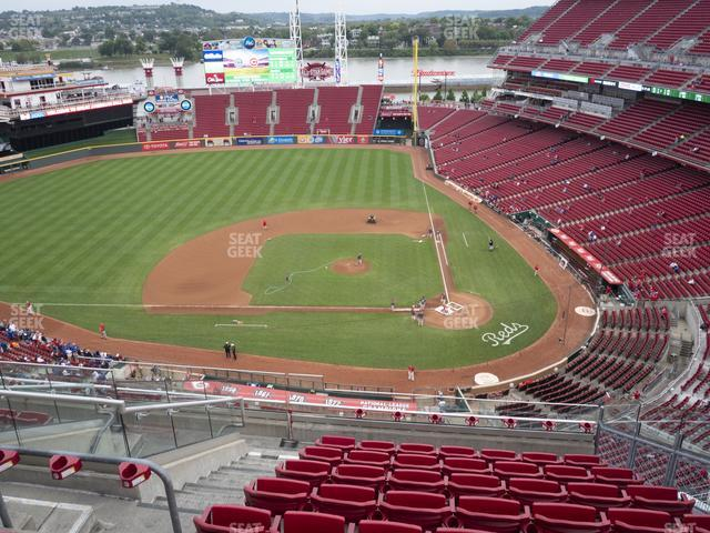 Great American Ball Park Section 519 view