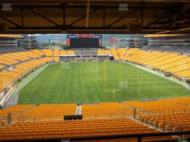 Heinz Field North Club 007 view