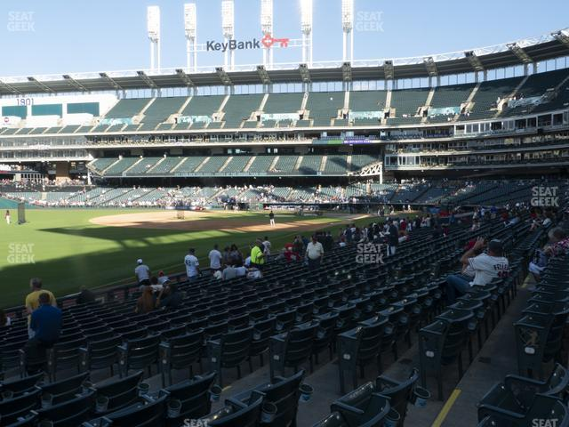 Progressive Field Section 175 view