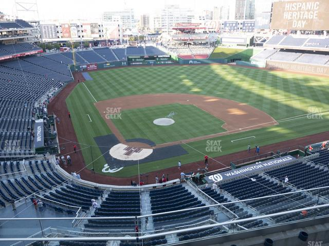 Nationals Park Section 316 view