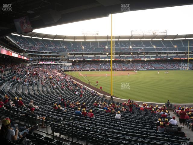 Angel Stadium of Anaheim Section 232 view
