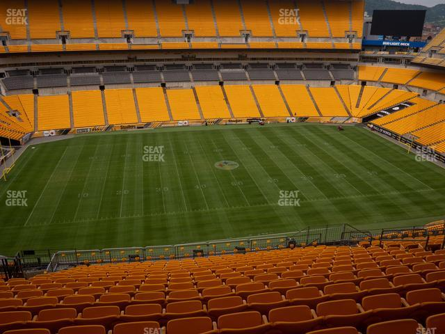 Heinz Field Section 509 view