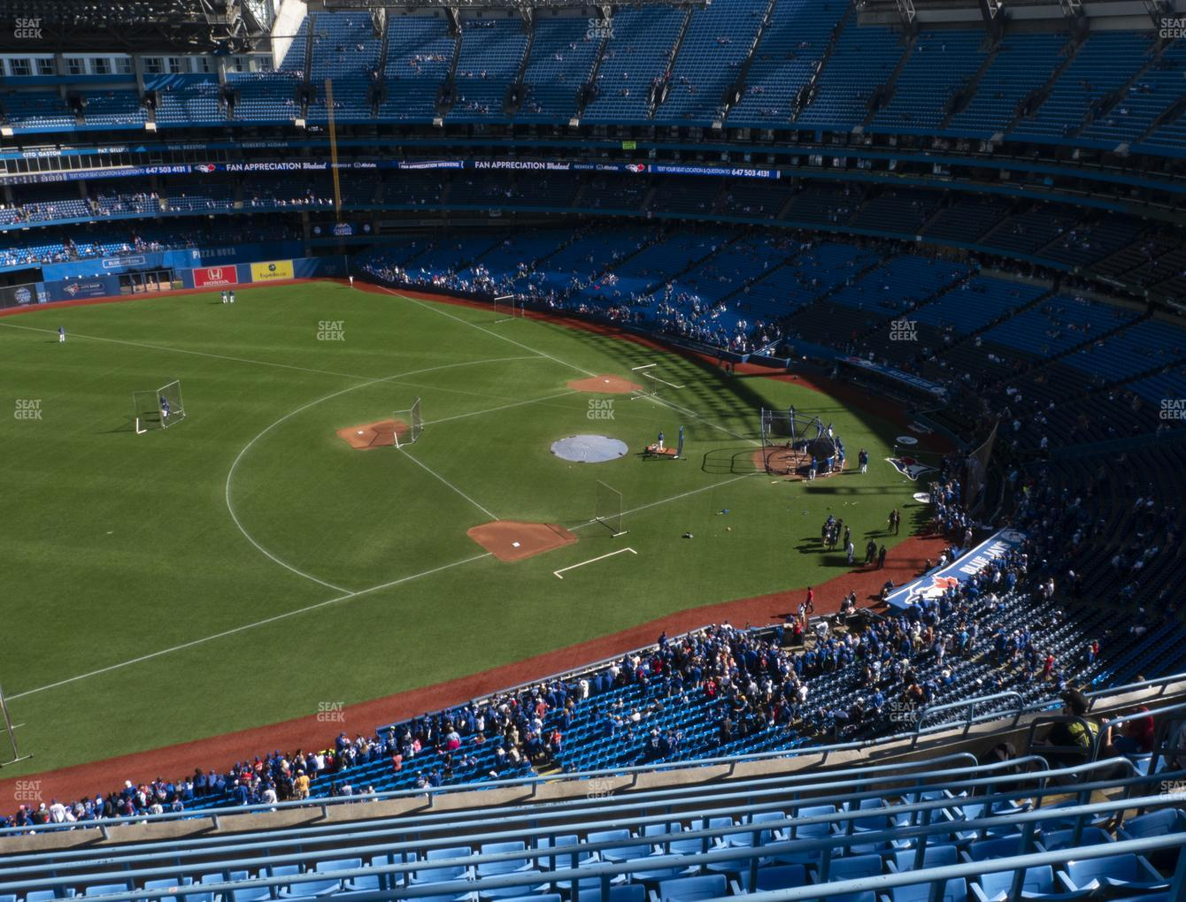 Toronto Blue Jays at Rogers Centre Section 533 L View