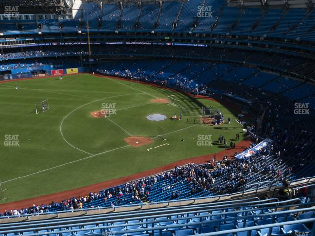 Rogers Centre Section 533 L view