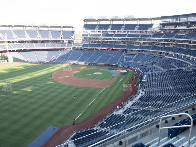 Nationals Park Section 301 view