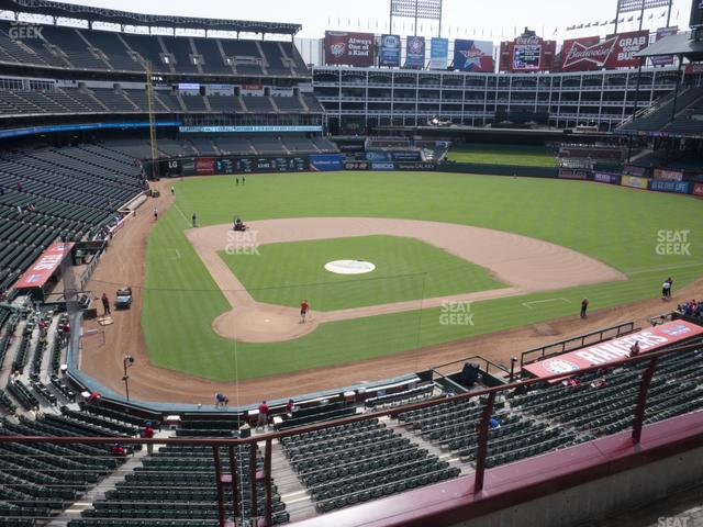 Globe Life Park Section 229 view