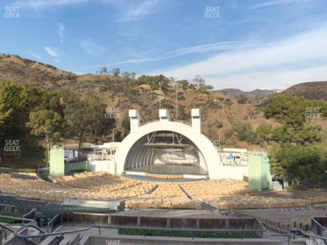 Hollywood Bowl Section M 3 view